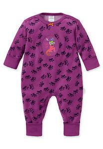 40c94c5968 Das Bild wird geladen SCHIESSER-Baby-Anzug-Vario-Strampler-KATZE-68-74-