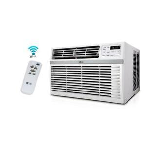 LG-LW1017ERSM-10-000-BTU-110V-Window-A-C-Remote-amp-Window-Accessories-Included