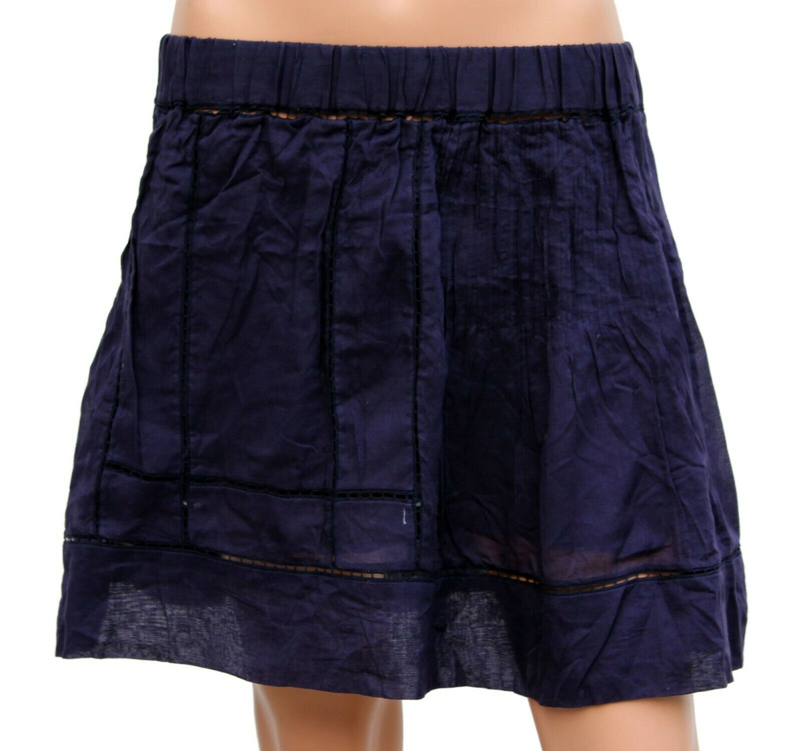 Isabel Marant Etoile Women's Casual Cotton Embroidered Short Skirts L 3 38