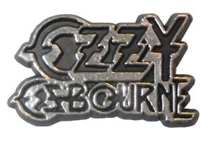 Vintage-Original-1980-039-s-Ozzy-Osbourne-Rock-Heavy-Metal-Artist-Music-Badge