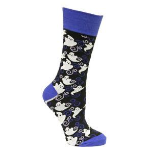 Yo Sox Women's Colorful Novelty Halloween Crew Socks