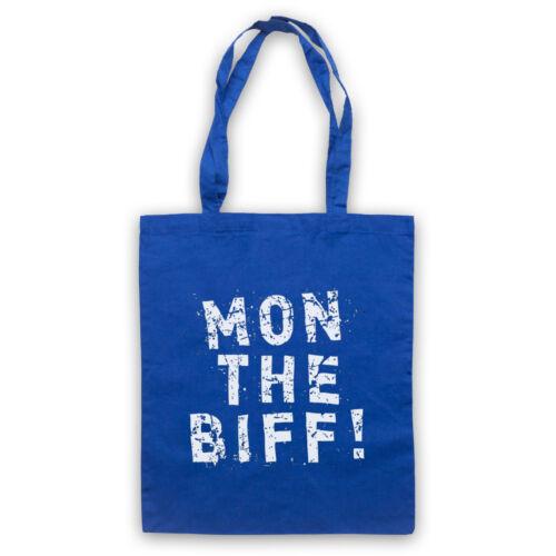 BIFFY CLYRO UNOFFICIAL MON THE BIFF ROCK BAND SLOGAN TOTE BAG LIFE SHOPPER