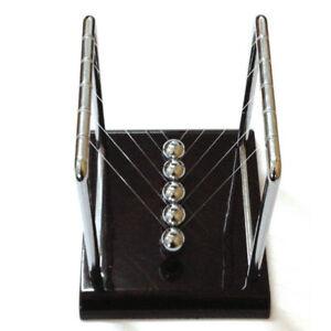 Newtons Cradle Fun Steel Balance Balls Physics Science Pendulum Desk Toy Gifts