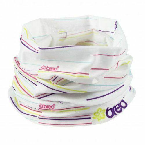 Breo White Versatile Multifunctional Neck scarf Face Covering Bandana Balaclava