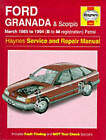 Ford Granada and Scorpio ('85 to '94) Service and Repair Manual by Matthew Minter (Hardback, 1995)