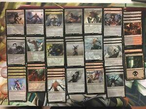 60-Card-Deck-BLACK-RED-ELDRAZI-Ready-to-Play-Rare-cards-Magic-MTG