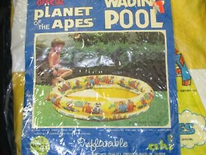 """Vintage new in package 1967 Planet of the Apes Wading POOL 54 x 12"""""""