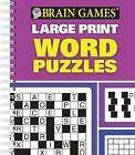 Brain Games Large Print Word Puzzles by Publications International, Ltd. (Spiral bound, 2015)
