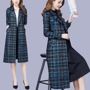 de couleur Zsell trench manteau Parka mélangée des de d'affaires mince de couleur de de Le manteaux femmes long wPqgw
