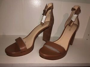 8cd3a5bf5877 Image is loading Nine-West-Dempsey-Ankle-Strap-Block-Heel-size-