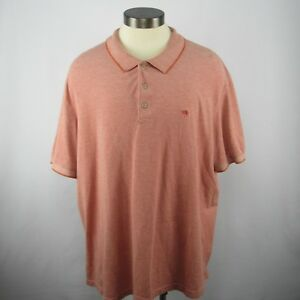Palm-Beach-1922-Men-Size-3XL-Classic-Fit-Pink-Polo-Short-Sleeve-Shirt
