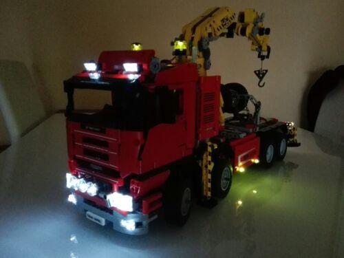 LEGO Technic LED Light Kit ONLY For 8258 Crane Truck Technic