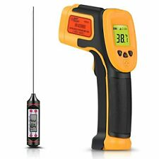 Infrared Thermometer Digital Ir Laser Thermometer Temperature Gun 26f1022