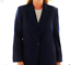 Alfred-Dunner-Women-039-s-Blazer-Size-14-Blue-Jacket-Two-Front-Buttons-NWOT thumbnail 1