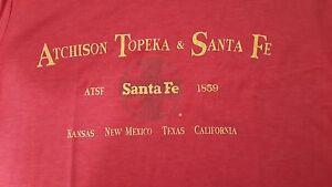 Ringaboy-Mens-T-Shirt-Santa-Fe-Railroad-New-With-Tags-Size-2XL
