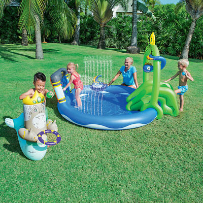 Piscina gonfiabile per bambini gioco da giardino Atlantide Bestway 53057