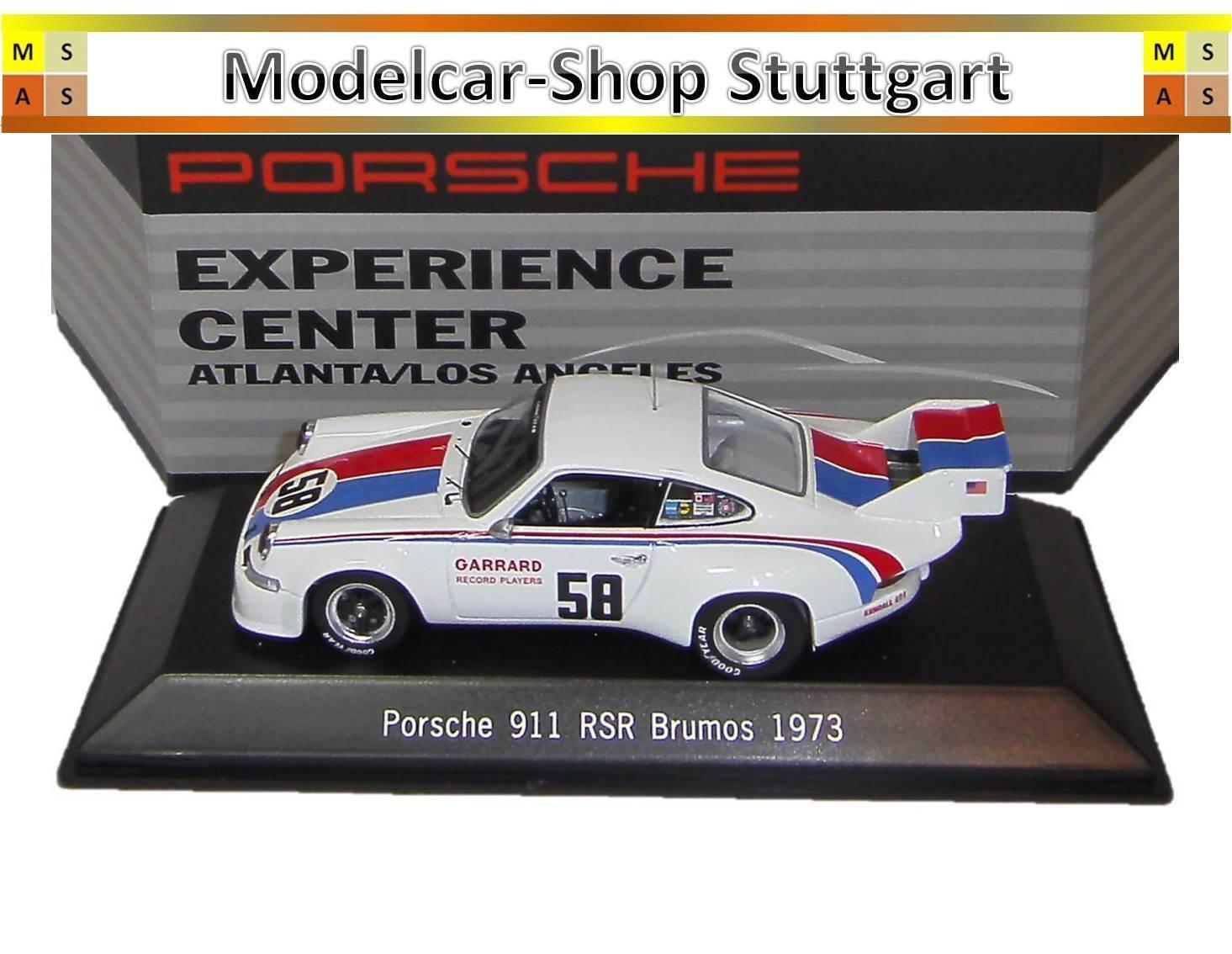 Musée Porsche 911 RSR Brumos 1973 Experience Center Atlanta L.A. Spark 1 43