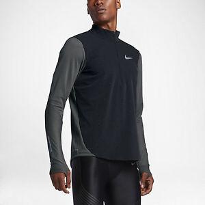 nuevo Half 886060455925 Aeroreact Hombre Shirt Black 1 Nike 175 Zip Running Jacket Top 2 Medium 7w6Eq