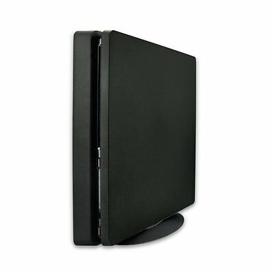 Playstation 4 PS4 Slim & Pro vertikal Halter Stand Ständer Standfuß schwarz