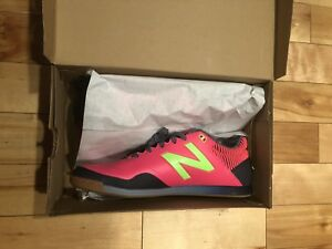 5a89b5715bb3e NEW BALANCE Audazo 2.0 Pro Indoor Soccer Shoes Pink Men's Size 10 ...