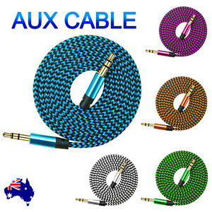 AUX Cable 3.5mm  Audio Extension for Car Phone Cord Male to Male Auxiliary