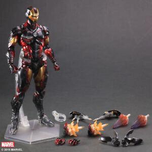 Play-Arts-Kai-Marvel-Square-ENIX-IRON-MAN-Action-Figure-Toy