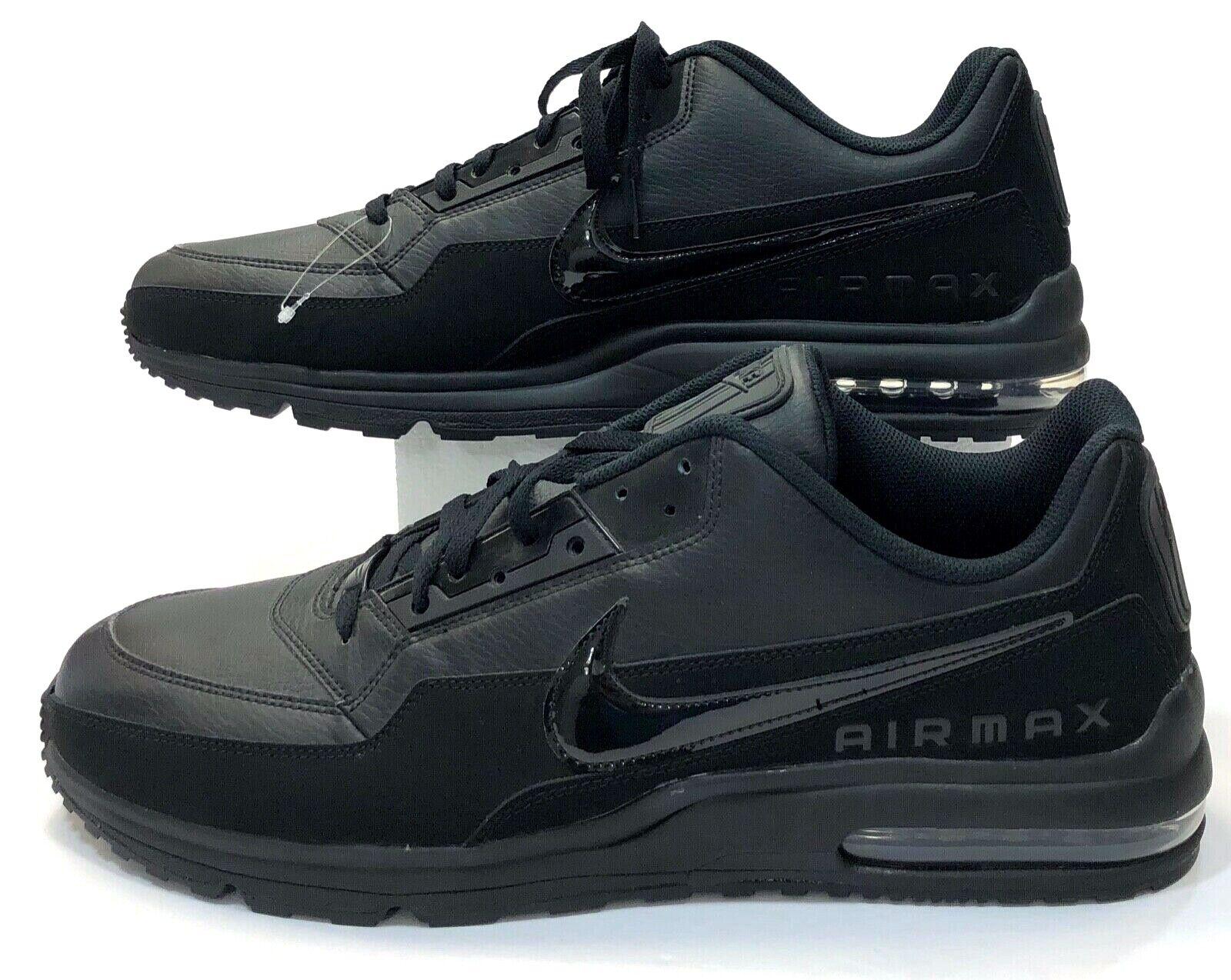 Nike Black Air Max LTD 3 Triple Black Retro OG shoes Men 687977-020 Sz 18  NS15