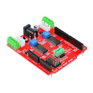 Dual Channel Stepper Motor Driver Shield Expansion Board