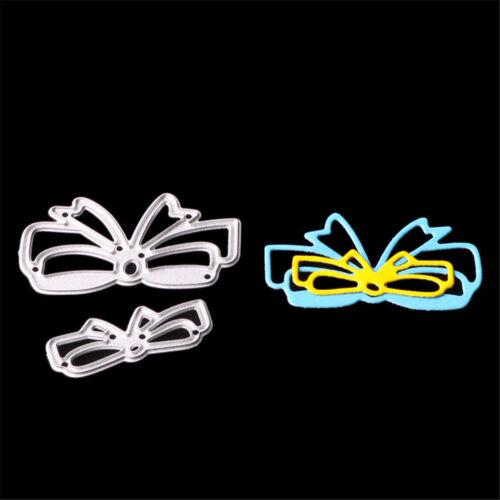 1set Metal Cutting Dies Stencil Craft Embossing Scrapbooking bow-tie DIY SP