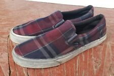 4c3a987ca3539f item 4 VANS SLIP ON CA OVERWASHED PLAID MEN S SIZE 13 -VANS SLIP ON CA  OVERWASHED PLAID MEN S SIZE 13