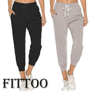 Womens Joggers Pants Ladies Tracksuit Bottoms Jogging Gym Trousers Lounge Wear