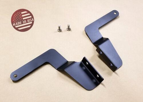 SR LED Light Bar Hidden lower Bumper Grille Mount brackets FOR 07-20 Tundra