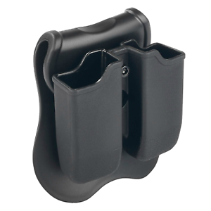 Black-Double-Magazine-Pouch-Case-Holder-for-Glock-17-19-22-23-26-27-9mm-40-Mag