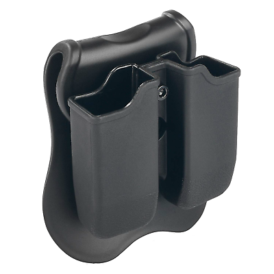 Fits Glock .40//9mm Double mag and Handcuff Pouch
