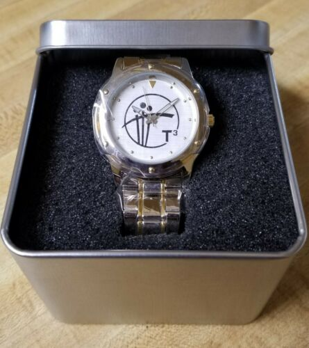 Matsuda Classic Men's Two-Tone Stainless Steel Wrist Watch - New In Box