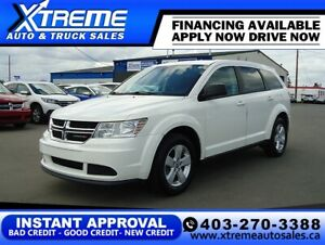 2013 Dodge Journey Canada Value Pkg $79 B/W *$0 DOWN* APPLY NOW