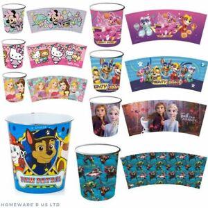 CHILDRENS-FROZEN-AVENGERS-PAW-PATROL-PLASTIC-BEDROOM-BIN-BATHROOM-TRASH-RUBBISH