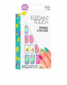 Elegant-Touch-False-Nails-Spring-Chicken-Limited-Edition-24-Nails