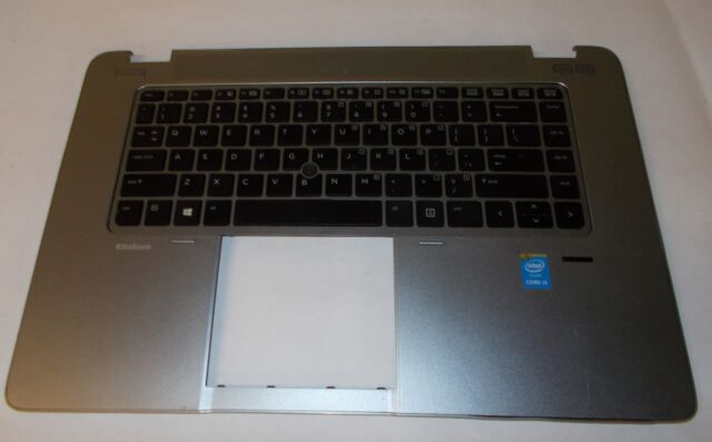 "HP Elitebook 820 G1 12.5/"" Laptop Palmrest keyboard Touchpad 783215-001 Grade B+"