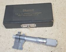 Starrett No 700b Inside Micrometer 1 To 2 Made In The Usa 700