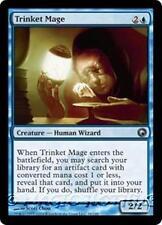 TRINKET MAGE Scars of Mirrodin MTG Blue Creature — Human Wizard Unc