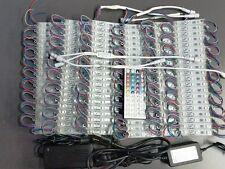 60ft. RGB 5050 LED Module Light 12V Tape 120 Pcs X 3 LED Store Front Window Sign