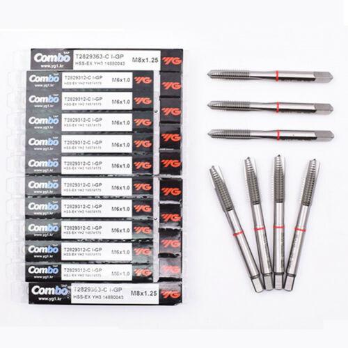 YG-1 Taps Tool NO.T2829  M10x1.5  HSS-EX YH3 accuracy 3 Flute L=75 Acme Tap 1Pcs