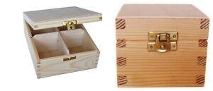 Plain-Wood-Wooden-Tea-Bag-Box-Storage-Box-Decoupage-Box