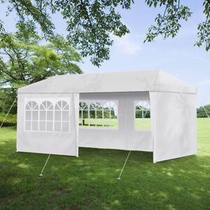 3x6-m-Profi-Partyzelt-mit-Fenster-Garten-Pavillon-Festzelt-wasserdicht-Bierzelt