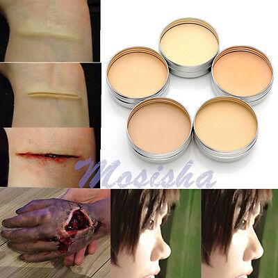 1x Halloween Modeling Fake Wound Scar Eyebrow Blocker Wax Special Effect Makeup