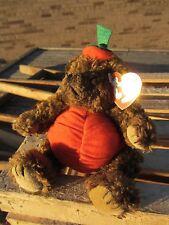"TY Beanie Baby PETER Pumpkin Bear Trick or Treat  approx 6.5"" tall 1993 Plush"