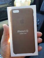 "BROWN BRAUN GENUINE Apple Leather Case Ledertasche Lederhülle iPhone 6(S) 4.7"""