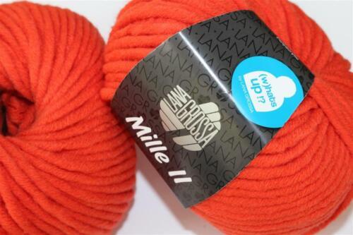 Lana Grossa Wolle Kreativ Mille II Fb 63 hummer 50 g