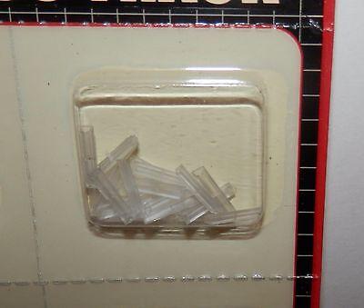 Atlas N-scale Code 55 Insulating Plastic Rail Joiners 24//pack #2091